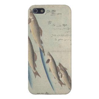 Bajío de caso del iPhone de los pescados iPhone 5 Coberturas