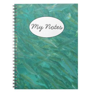 Bajío de pescados cuadernos