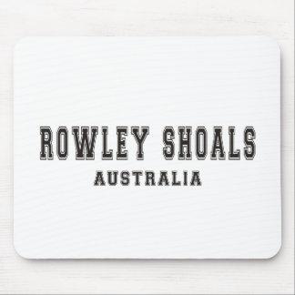 Bajíos Australia de Rowley Tapetes De Ratones