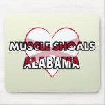 Bajíos del músculo, Alabama Alfombrilla De Ratones