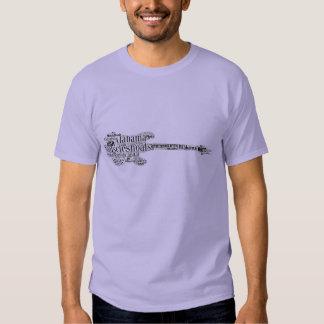 Bajíos del músculo, Alabama - camiseta Poleras