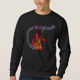 Bajista de la banda de azules de los cangrejos sudadera
