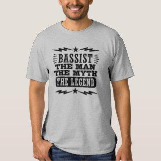Bajista el hombre el mito la leyenda camisas