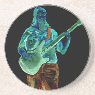 Bajista, hecho en los colores de neón en la parte  posavasos para bebidas