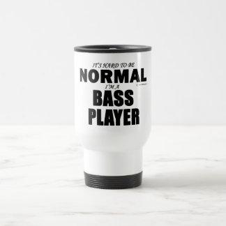 Bajista normal taza de café