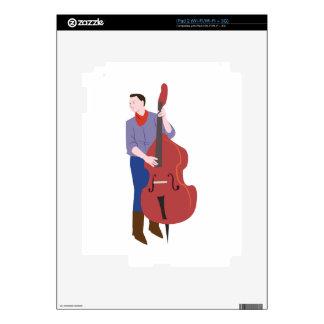 Bajista vertical iPad 2 skins