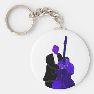 Bajista vertical, pintura púrpura de la versión llaveros