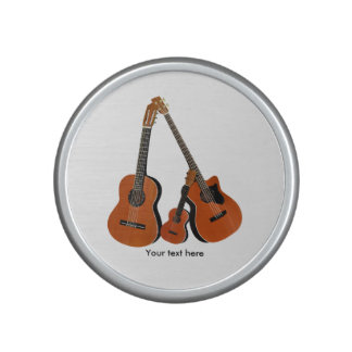 Bajo acústico y Ukulele de la guitarra española Altavoz