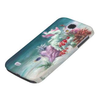 Bajo caso de IPhone 3 del mar Funda Para Galaxy S4