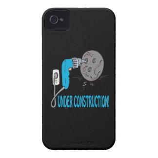 Bajo construcción iPhone 4 Case-Mate cobertura
