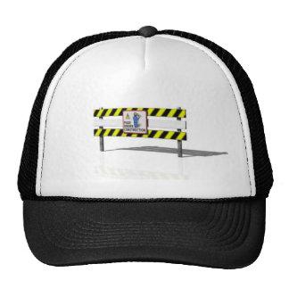 Bajo construcción gorras
