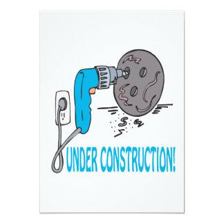 Bajo construcción comunicado personalizado