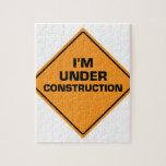 Bajo construcción puzzles con fotos