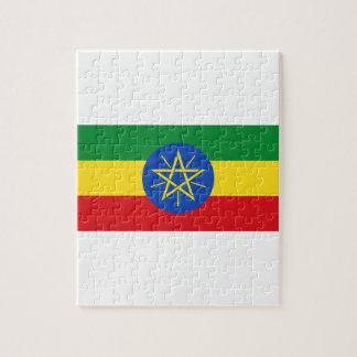 ¡Bajo costo! Bandera de Etiopía Puzzle