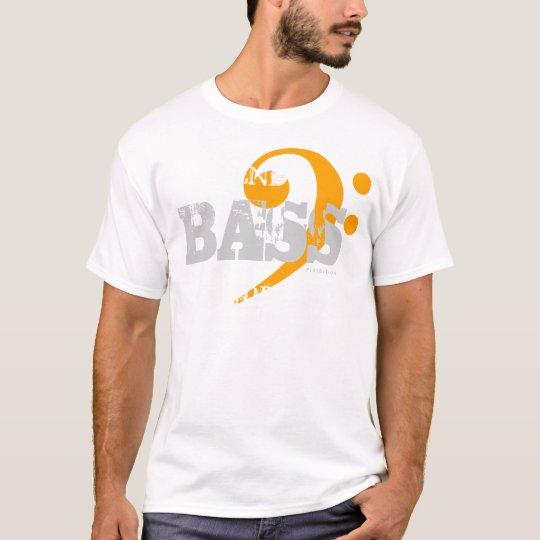 Bajo de la camiseta del coro para el naranja de la