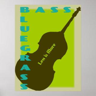Bajo del Bluegrass: Menos es más Póster