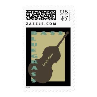 Bajo del Bluegrass: Menos es más Sello Postal