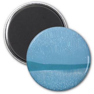 Bajo demostración del agua imán redondo 5 cm
