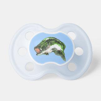 Bajo grande de la boca chupetes para bebes