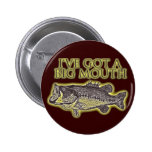 bajo grande de la boca pin redondo de 2 pulgadas