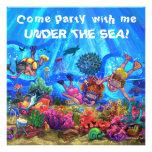 Bajo invitación del fiesta del mar