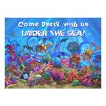 Bajo invitación del fiesta del patio del mar