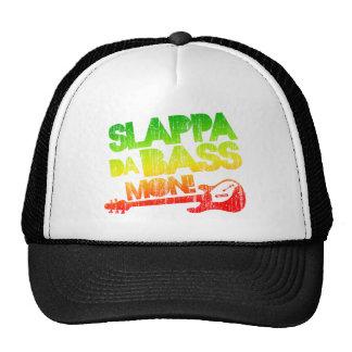¡Bajo lunes de Slappa DA! Gorros Bordados