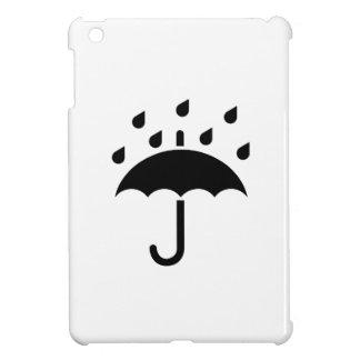 Bajo mi caso del iPad del pictograma del paraguas  iPad Mini Carcasas