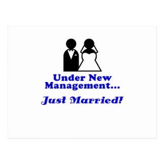Bajo nueva gestión apenas casada postales