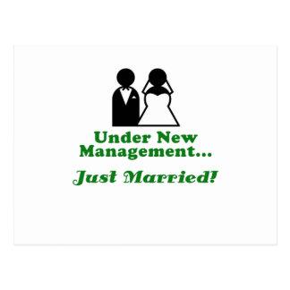 Bajo nueva gestión apenas casada postal