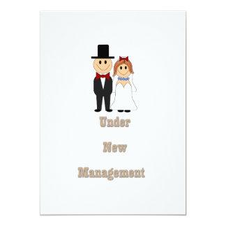 Bajo nueva gestión invitacion personalizada