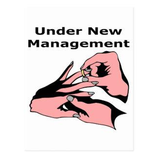Bajo nueva gestión tarjeta postal