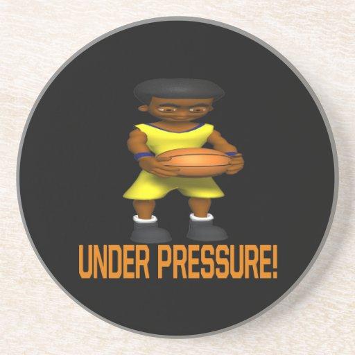 Bajo presión posavasos manualidades