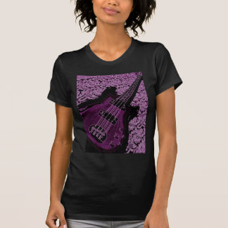 bajo púrpura camiseta