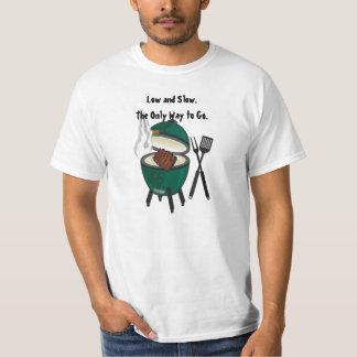 Bajo y lento. La única manera a Go.The Big Green Camisas