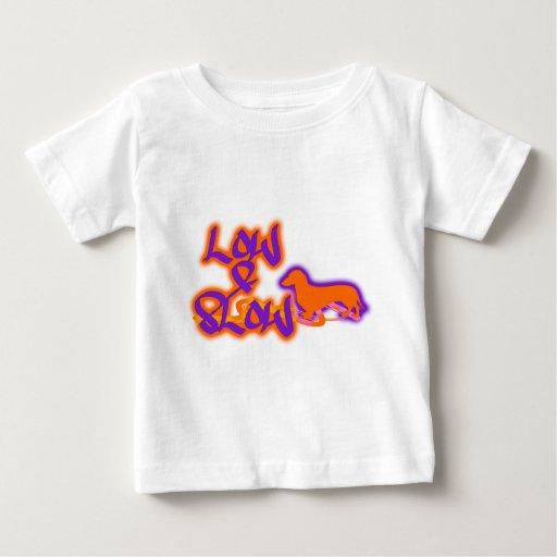Bajo y lento tee shirts