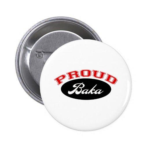 Baka orgulloso pin