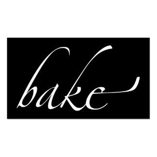 Bake: Baker, Bakery Double-Sided Standard Business Cards (Pack Of 100)
