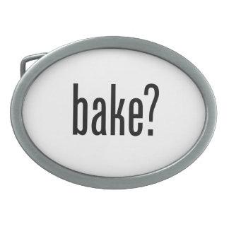 bake oval belt buckles