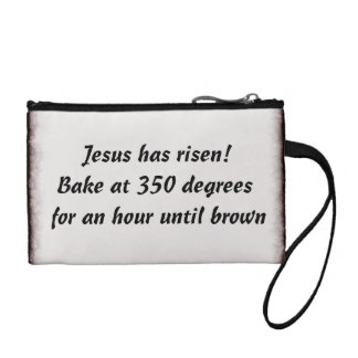 Bake Me A Jesus Change Purse