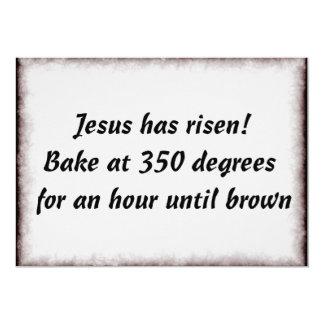 Bake Me A Jesus 5x7 Paper Invitation Card