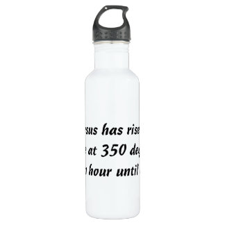Bake Me A Jesus Stainless Steel Water Bottle