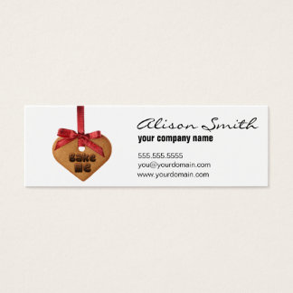 Bake me mini business card
