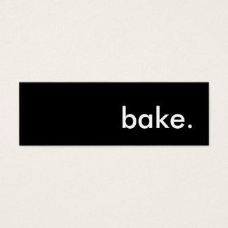 bake. mini business card