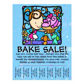 Bake Sale Customizable Promotional Flyer