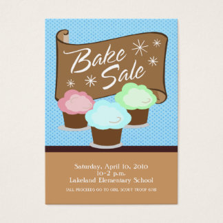 Bake Sale Event Card