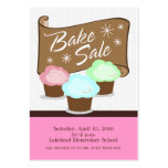 Bake Sale Event Card Business Card Template