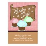 Bake Sale Event Card Business Card Templates