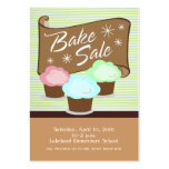 Bake Sale Event Card Business Cards