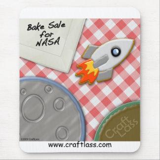 Bake Sale for NASA Mousepad